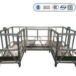 plataforma de traballo suspendida de alta resistencia con cinta u