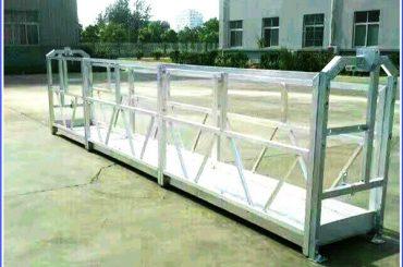 plataforma galvanizada en suspensión de corda quente, edificio alto de góndola suspendida