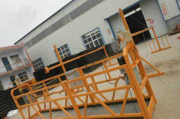 fiable zlp630 pintura de aceiro suspendido plataforma de traballo para a construción