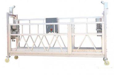 380v / 220v / 415v plataforma de limpeza de alta eficiencia zlp800 monofásica