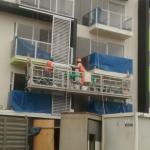 plataforma de suspensión de mantemento de construción plataforma con elevador ltd8.0 zlp800